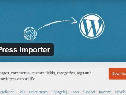 Імпорт постів з\в Wordpress